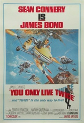 You Only Live Twice Original US One Sheet