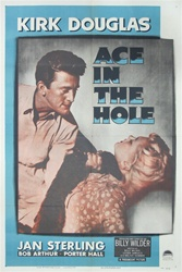 Ace In the Hole Original US One Sheet