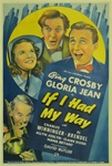 If I Had My Way Original US One Sheet
