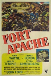 Fort Apache Original US One Sheet
