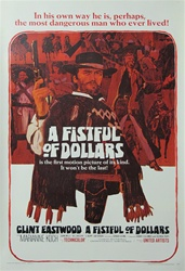 Fistful Of Dollars Original US One Sheet