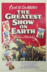 The Greatest Show on Earth Original US One Sheet