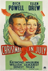 Christmas in July Original US One Sheet