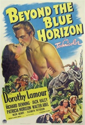 Beyond The Blue Horizon Original US One Sheet