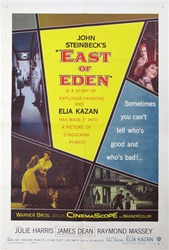 East Of Eden Original US One Sheet