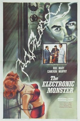 The Electronic Monster Original US One Sheet