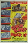 Rock Baby Rock It Original US One Sheet