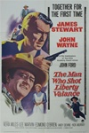 The Man Who Shot Liberty Valance Original US One Sheet