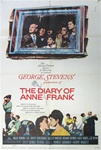 The Diary Of Anne Frank Original US One Sheet