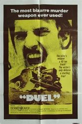 Duel Original US One Sheet