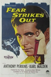 Fear Strikes Out Original US One Sheet
