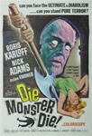 Die Monster Die Original US One Sheet