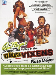 Beneath The Valley Of the Ultra-Vixens Original US One Sheet