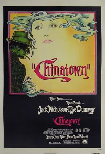 chinatown original us one sheet vintage movie poster jack