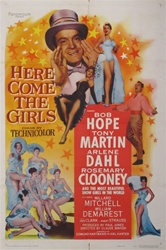Here Come The Girls Original US One Sheet