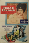 Hell's Island Original US One Sheet