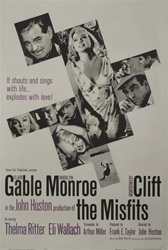 The Misfits Original US One Sheet