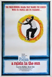 A Raisin In The Sun Original US One Sheet