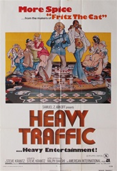 Heavy Traffic Original US One Sheet