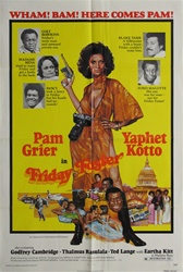 Friday Foster Original US One Sheet