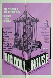 The Big Doll House Original US One Sheet