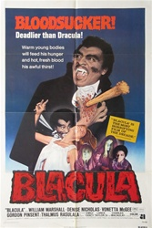 Blacula Original US One Sheet