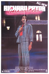 Richard Pryor Here And Now Original US One Sheet