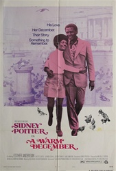 A Warm December Original US One Sheet