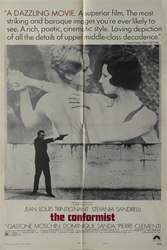 The Conformist Original US One Sheet
