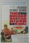 The Bridge On The River Kwai Original US One Sheet