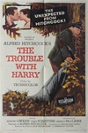 The Trouble With Harry Original US One Sheet