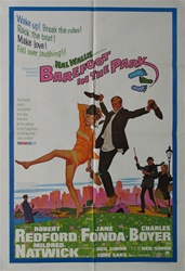Barefoot In The Park Original US One Sheet