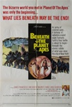 Beneath The Planet Of The Apes Original US One Sheet
