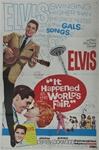 It Happened At The World's Fair Original US One Sheet