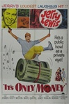 It's Only Money Original US One Sheet