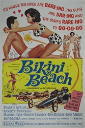 Bikini Beach Original US One Sheet
