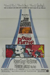 Gay Purr-ee Original US One Sheet