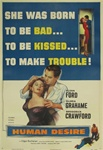 Human Desire US Original One Sheet