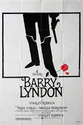 Barry Lyndon Original US One Sheet