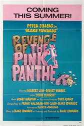 Revenge of the Pink Panther Original US One Sheet