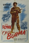 Objective Burma Original US One Sheet