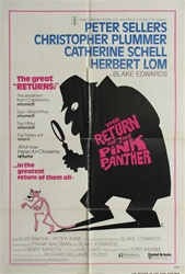 Return of the Pink Panther Original US One Sheet