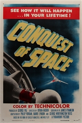 Conquest Of Space Original US One Sheet