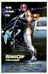 Robocop Original US One Sheet