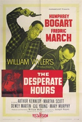 The Desperate Hours Original US One Sheet