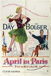 April in Paris Original US One Sheet