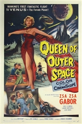 Queen Of Outer Space Original US One Sheet