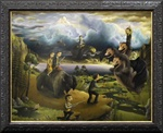Michael Page The Larutan Wolg Original Painting