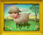 Marion Peck Little Lamb Limited Edition Print