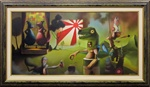 Kevin Peterson Super Happy Fun Original Painting